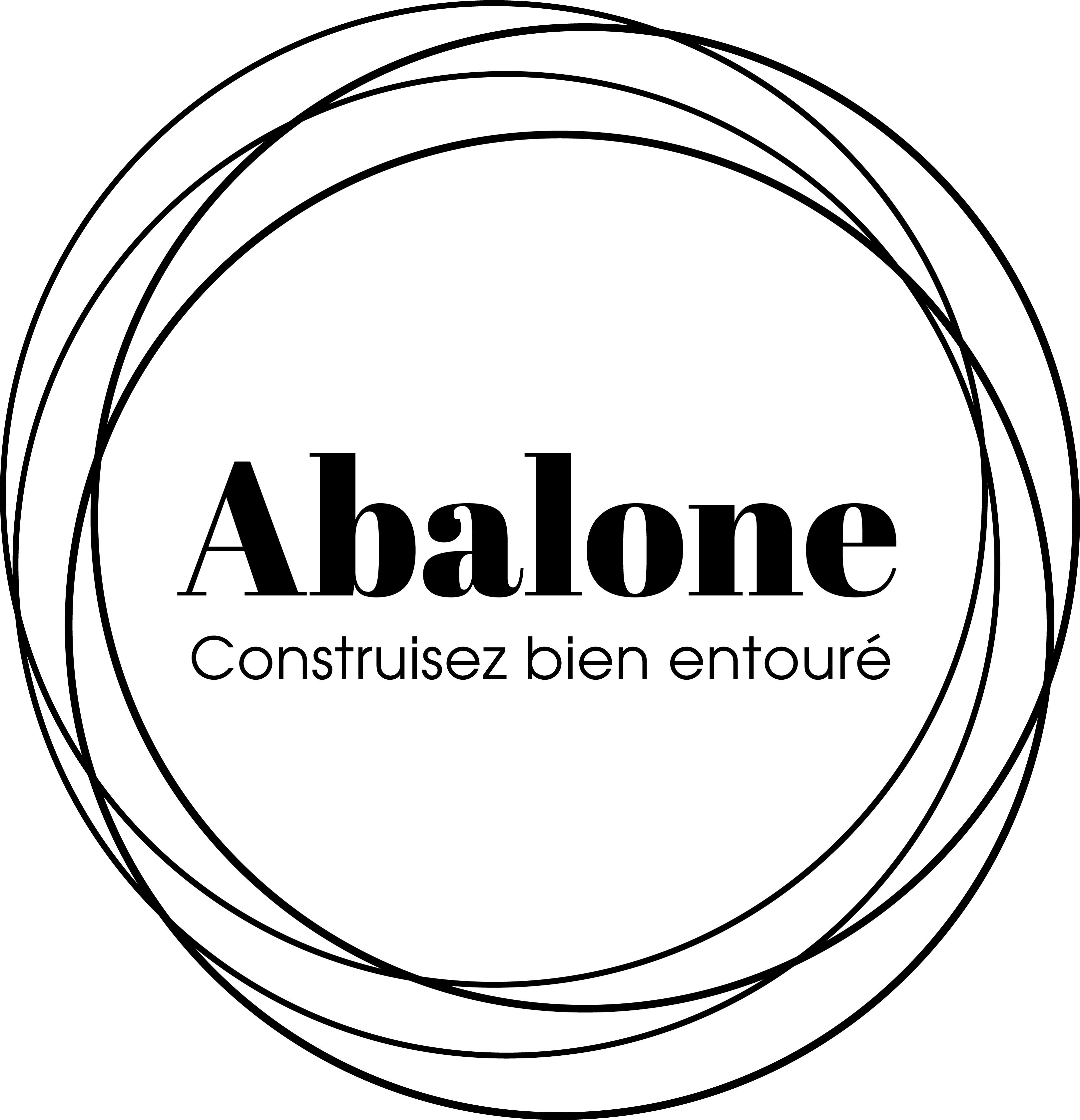 Abalone construction logo
