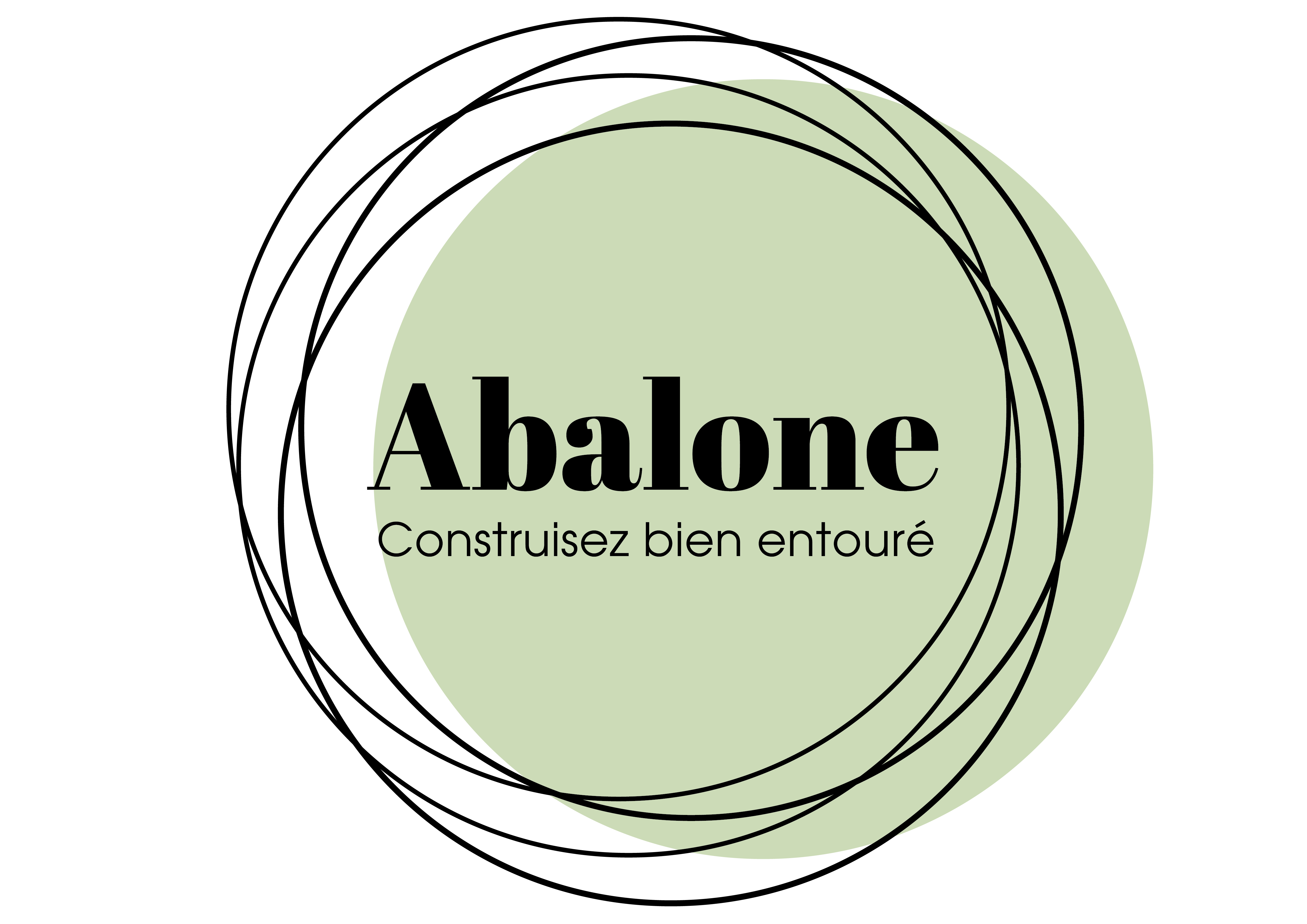 Abalone construction logo vert