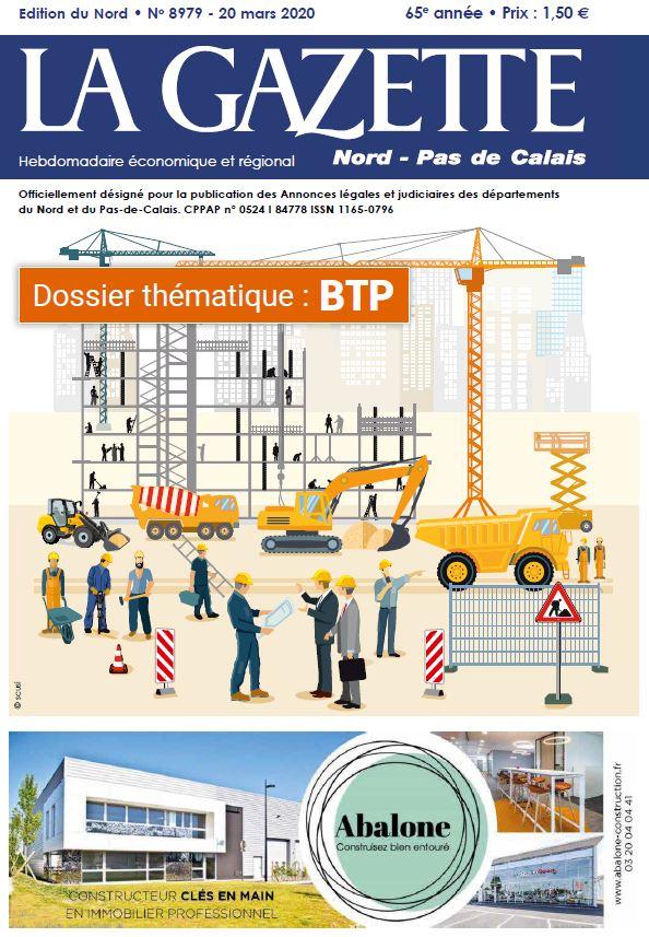 Abalone actualités La Gazette du BTP